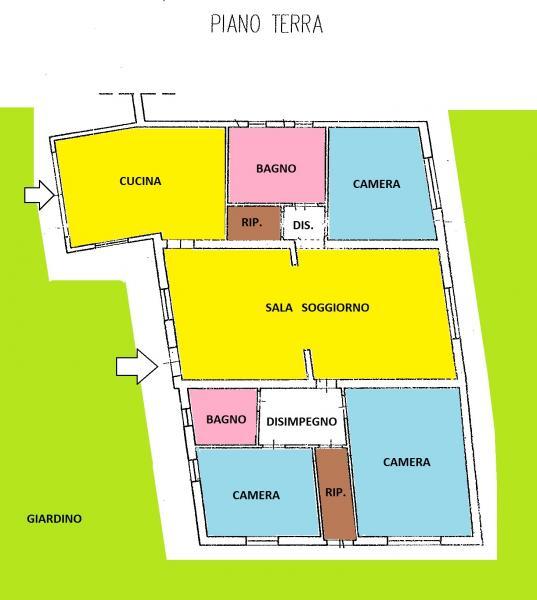 Appartamento in affitto a Pisa, 6 locali, zona Zona: Ospedaletto, prezzo € 900   CambioCasa.it