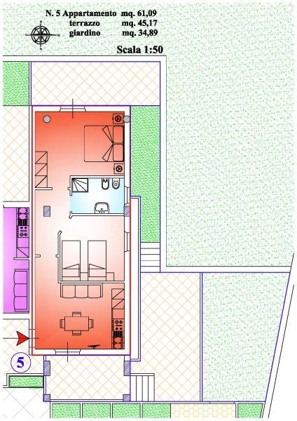 Appartamento vendita MARTINSICURO (TE) - 3 LOCALI - 61 MQ