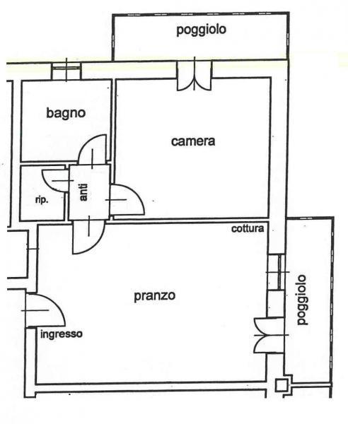 Bilocale Padova Torre 2