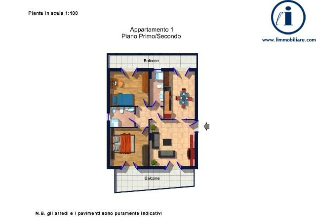 Bilocale Caserta Via Giulia 5