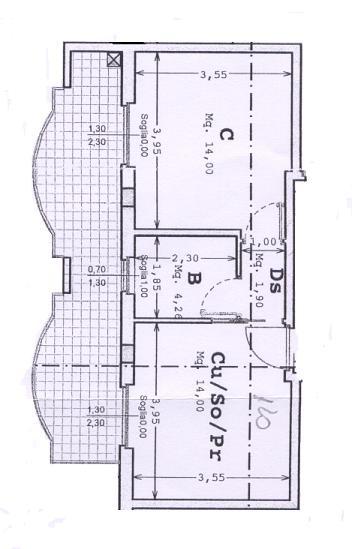 Appartamento in vendita a Massignano, 1 locali, prezzo € 120.000   Cambio Casa.it