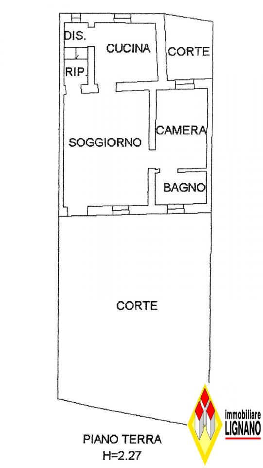 Rustico / Casale in vendita a Morsano al Tagliamento, 7 locali, zona Zona: Mussons, prezzo € 10.000 | Cambio Casa.it
