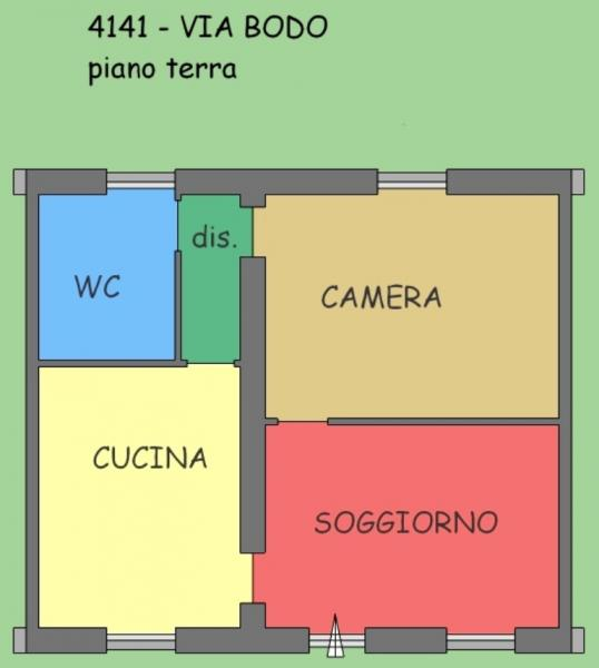 Bilocale Vercelli Via Bodo 10