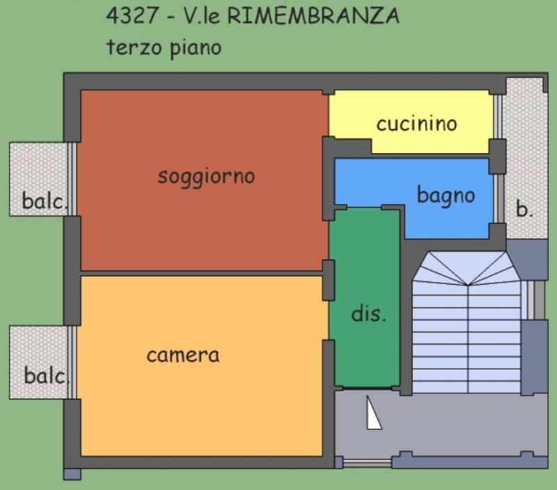 Bilocale Vercelli Viale Rimembranza 5
