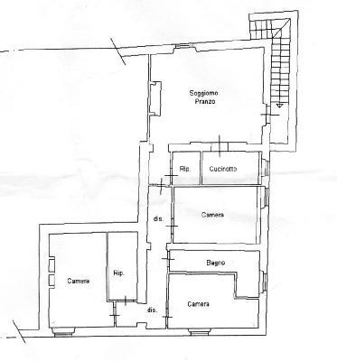 Appartamento in affitto a Cavriglia, 4 locali, zona Zona: Chiantigiana, prezzo € 250.000   Cambio Casa.it
