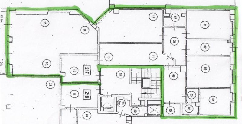 Appartamento affitto Milano (MI) - 4 LOCALI - 176 MQ