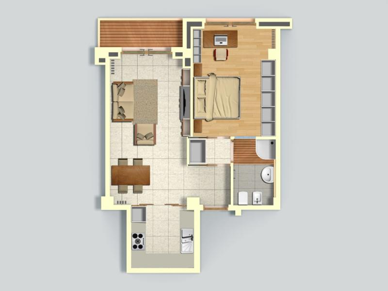 Appartamento vendita MILANO (MI) - 2 LOCALI - 62 MQ