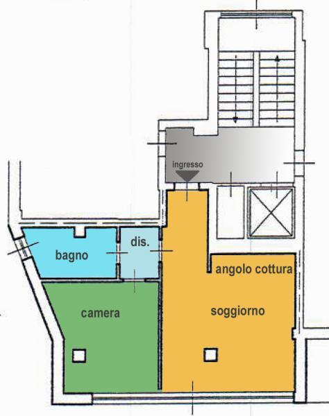 Bilocale Milano Via Del Futurismo 1