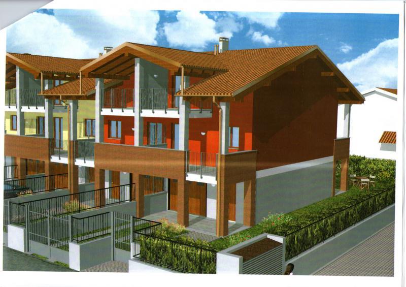 Villa a Schiera in vendita a Oleggio, 3 locali, prezzo € 220.000 | Cambio Casa.it