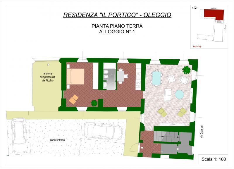 Bilocale Oleggio Via Picchio 1