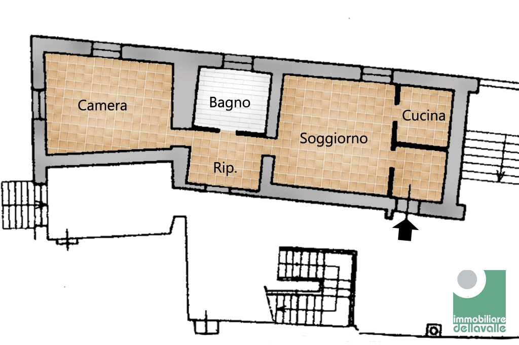 Bilocale Oleggio Via Sempione 8