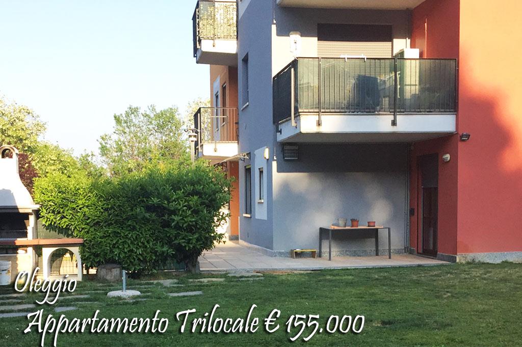 Appartamento in vendita a Oleggio, 3 locali, zona Località: vicinanzecentro, prezzo € 155.000 | Cambio Casa.it