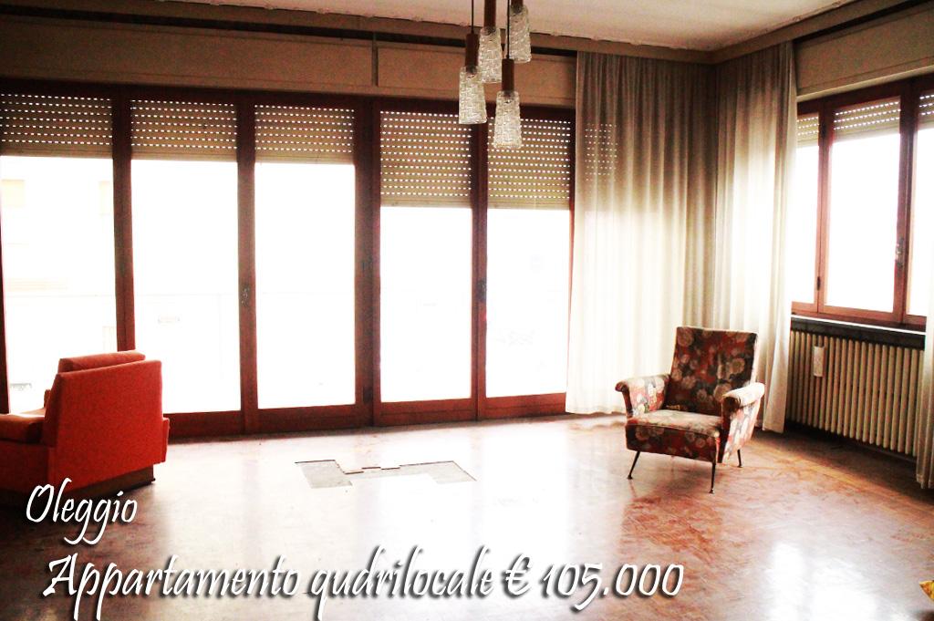 Appartamento in vendita a Oleggio, 4 locali, zona Località: vicinanzecentro, prezzo € 105.000 | Cambio Casa.it