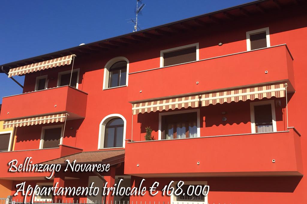 Appartamento in vendita a Bellinzago Novarese, 3 locali, prezzo € 168.000 | CambioCasa.it