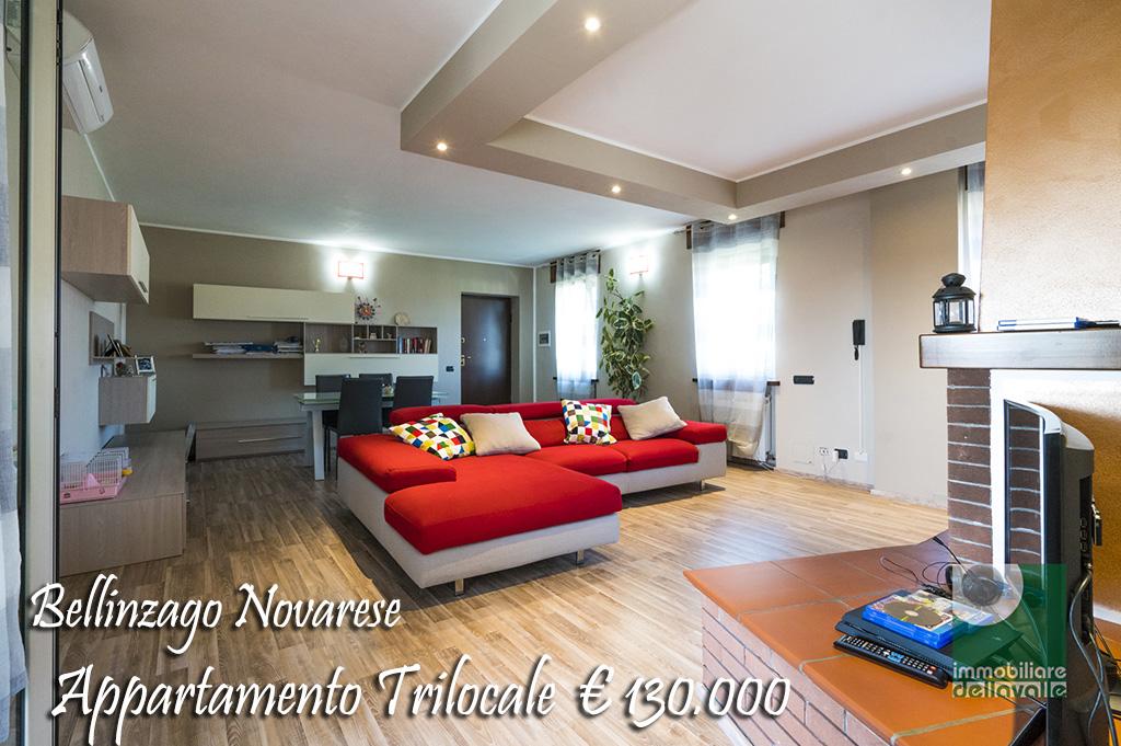 Appartamento in vendita a Bellinzago Novarese, 3 locali, prezzo € 130.000 | CambioCasa.it