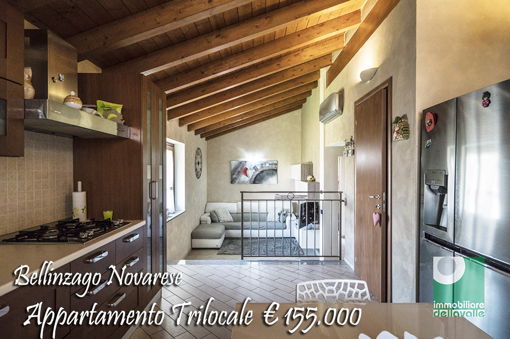 Appartamento in vendita a Bellinzago Novarese, 3 locali, prezzo € 155.000 | CambioCasa.it