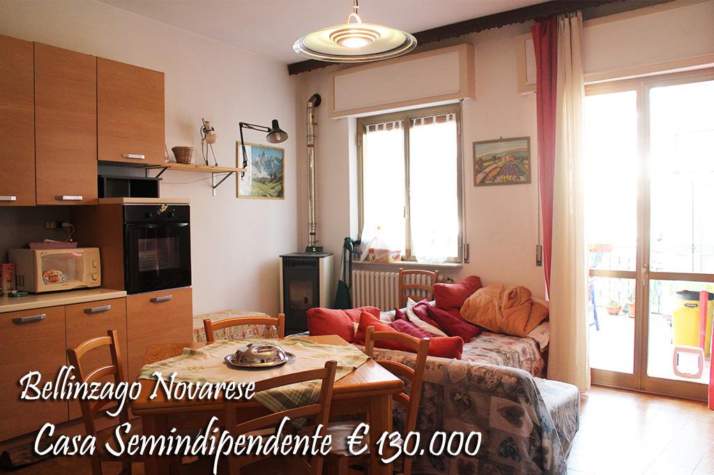 Soluzione Semindipendente in vendita a Bellinzago Novarese, 3 locali, prezzo € 130.000 | CambioCasa.it