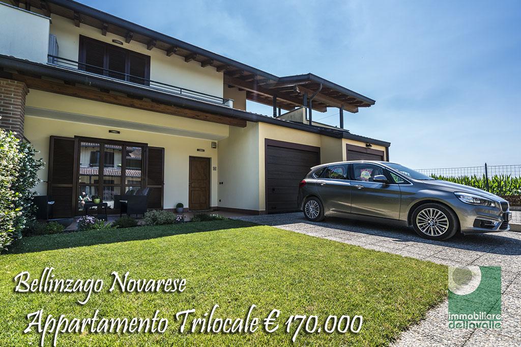 Appartamento in vendita a Bellinzago Novarese, 3 locali, prezzo € 170.000 | CambioCasa.it