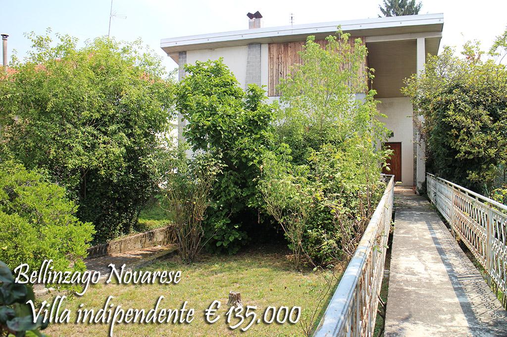 Villa in vendita a Bellinzago Novarese, 4 locali, prezzo € 135.000 | CambioCasa.it