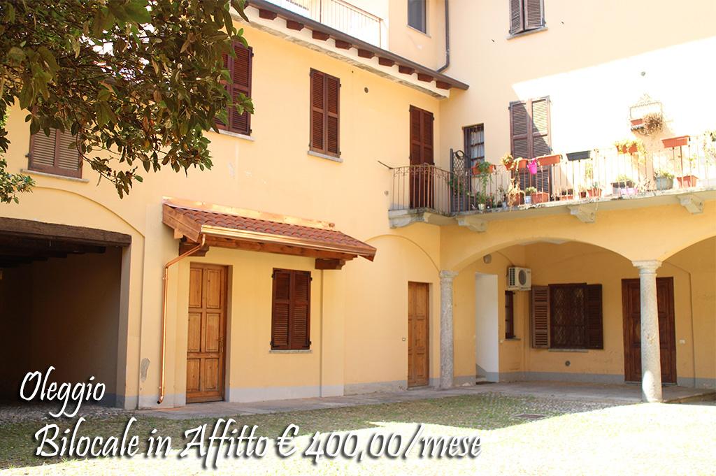 Appartamento in affitto a Oleggio, 2 locali, prezzo € 400 | CambioCasa.it