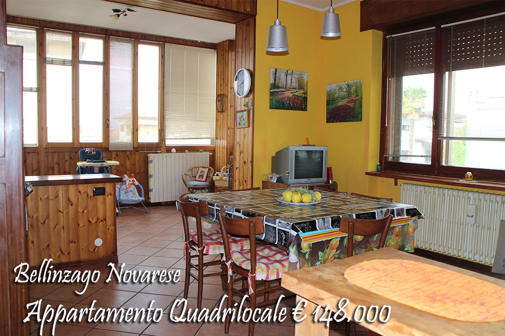 Appartamento in vendita a Bellinzago Novarese, 4 locali, prezzo € 148.000 | CambioCasa.it