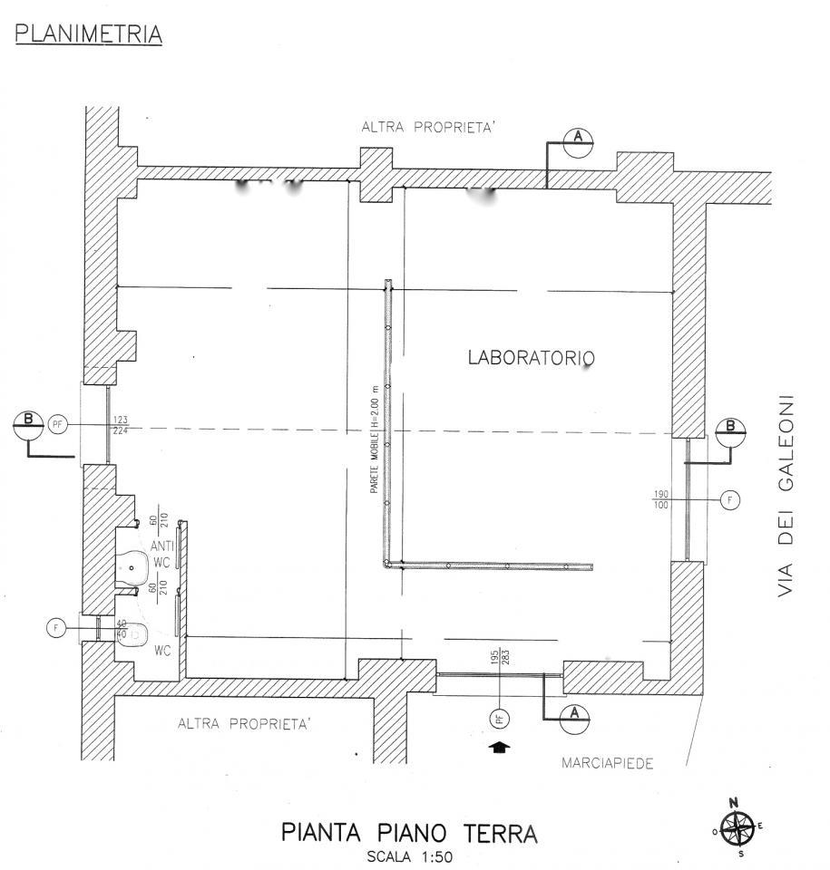Laboratorio in affitto a Roma, 9999 locali, zona Zona: 39 . Lido di Ostia, Ostia, Castel Fusano, Torre Paterno, prezzo € 800 | Cambio Casa.it