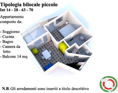 Bilocale San Benedetto del Tronto Via Tedeschi 10
