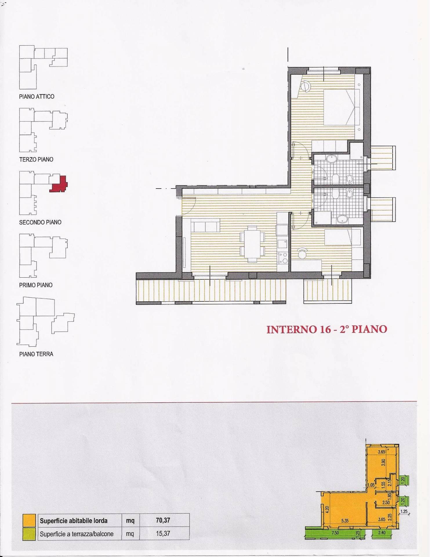 Appartamento in vendita a Corropoli, 3 locali, prezzo € 85.000   CambioCasa.it