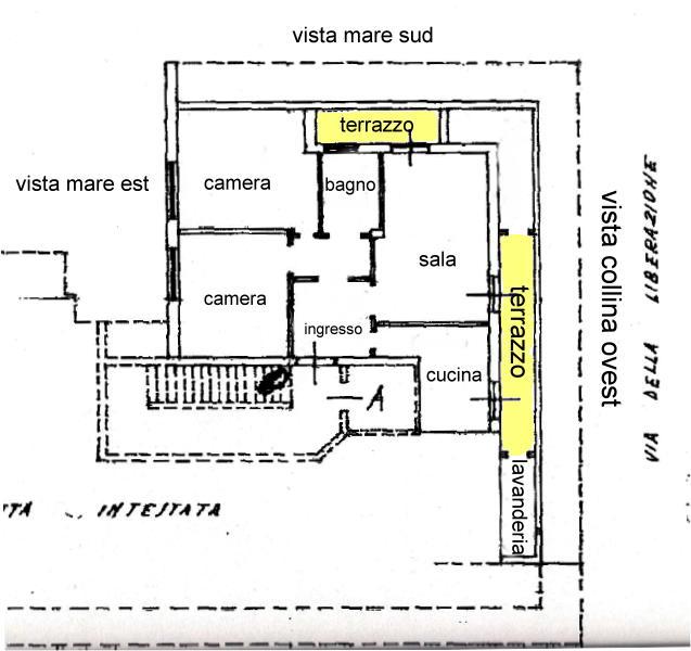 Appartamento in affitto a San Benedetto del Tronto, 5 locali, zona Località: Centrale, prezzo € 550 | CambioCasa.it