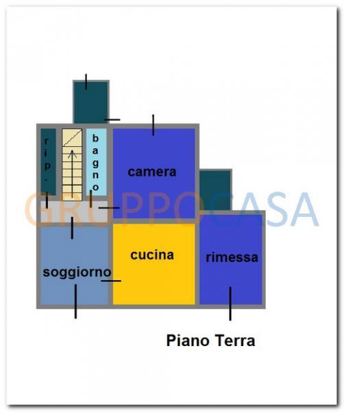 Rustico / Casale in vendita a Castelfranco di Sotto, 7 locali, zona Zona: Orentano, prezzo € 200.000 | Cambio Casa.it
