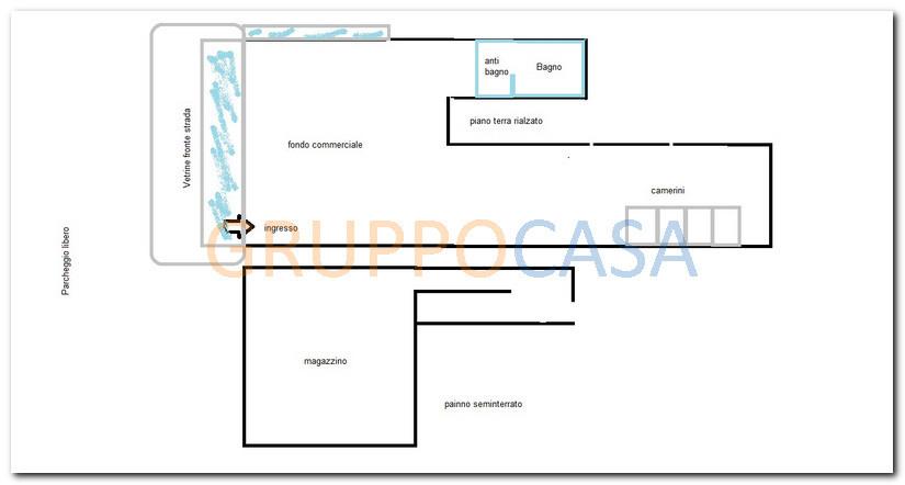 Ufficio / Studio in Vendita a Pescia