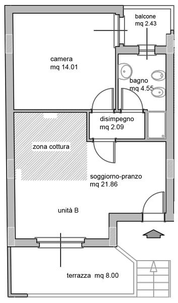 Bilocale Settimo San Pietro  10