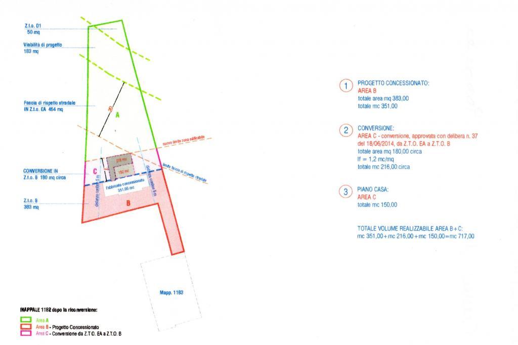 Terreno Edificabile Residenziale in vendita a Villorba, 9999 locali, zona Zona: Carità, prezzo € 85.000 | Cambio Casa.it