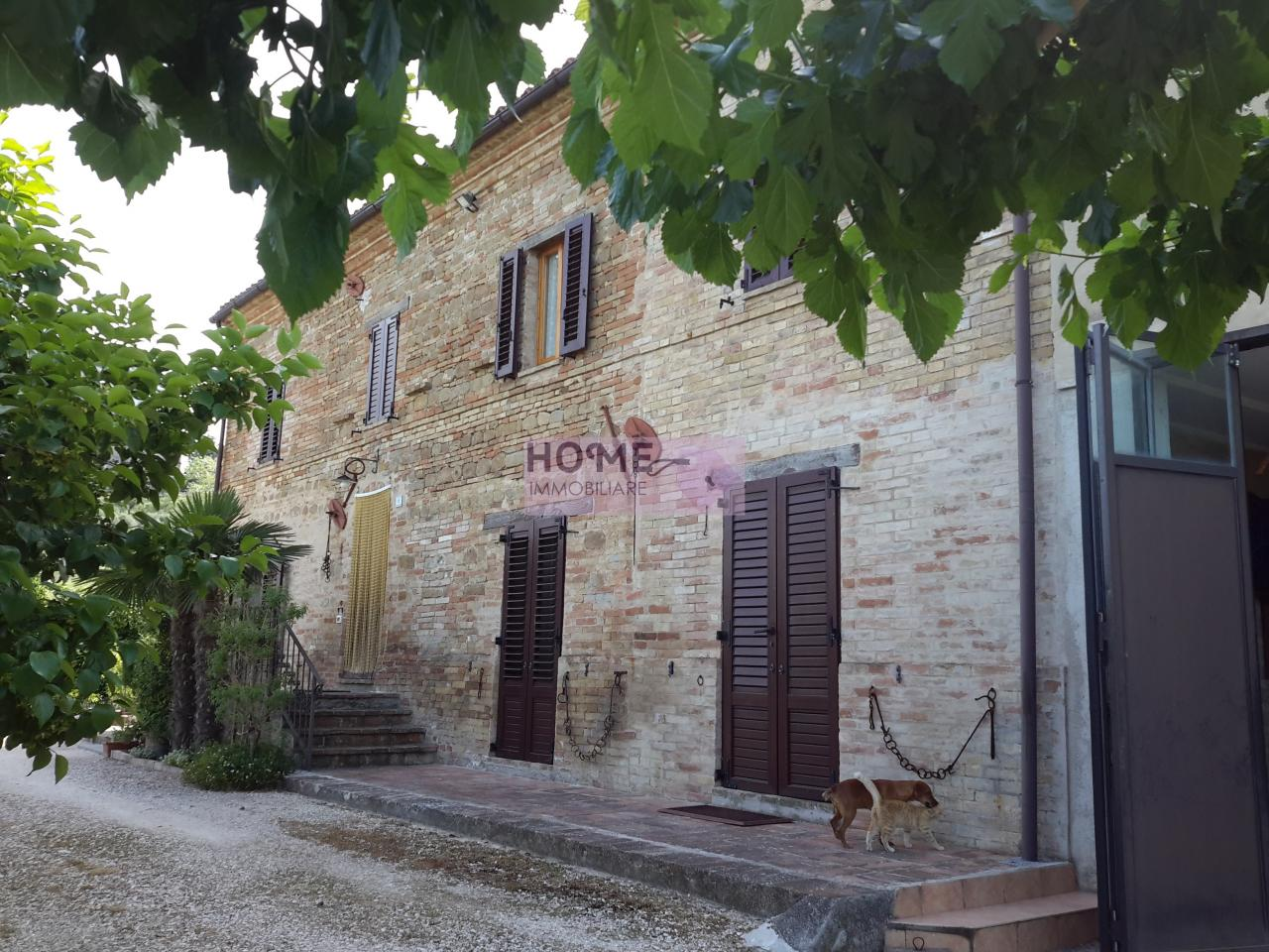 Soluzione Indipendente in vendita a Colmurano, 10 locali, Trattative riservate | CambioCasa.it