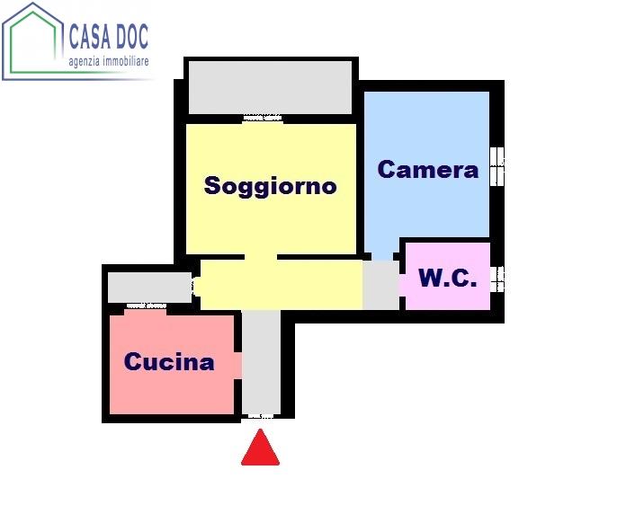 Bilocale Lacchiarella Via Carducci 2