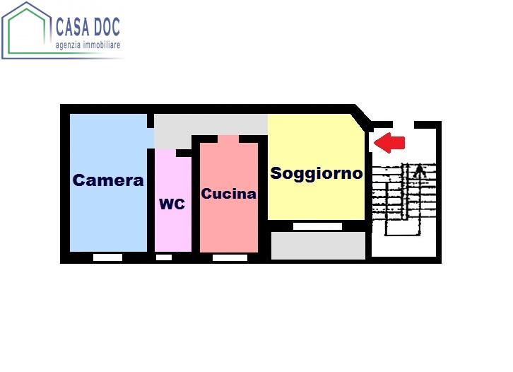 Appartamento in vendita a Lardirago, 2 locali, prezzo € 64.000 | Cambio Casa.it