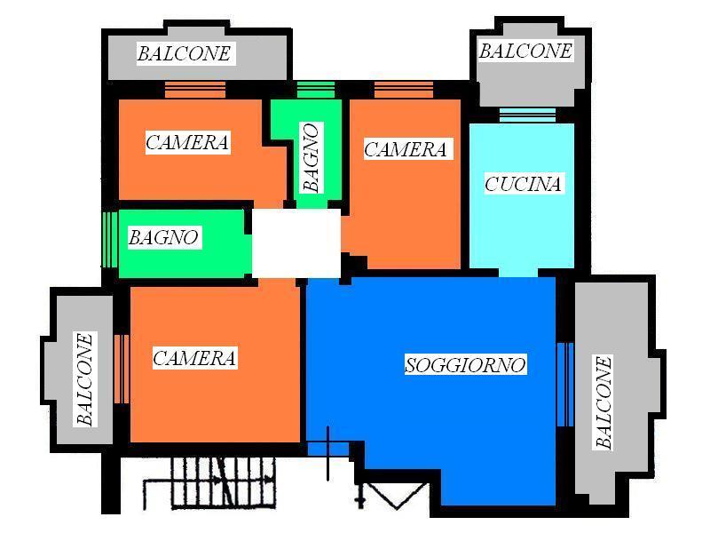 Appartamento in vendita a Folignano, 7 locali, prezzo € 165.000 | Cambio Casa.it