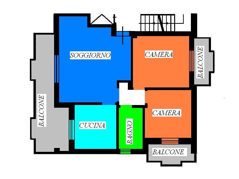 Appartamento in vendita a Folignano, 5 locali, prezzo € 140.000 | Cambio Casa.it