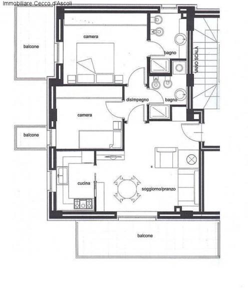 Appartamento in vendita a Ascoli Piceno, 6 locali, Trattative riservate | Cambio Casa.it