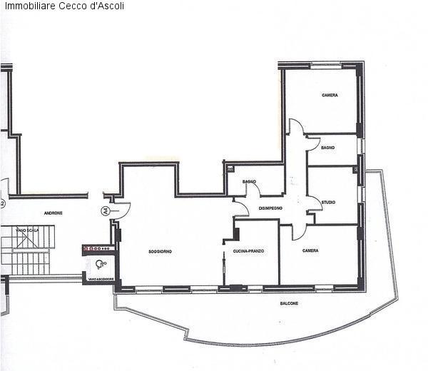Appartamento in vendita a Ascoli Piceno, 7 locali, Trattative riservate   Cambio Casa.it