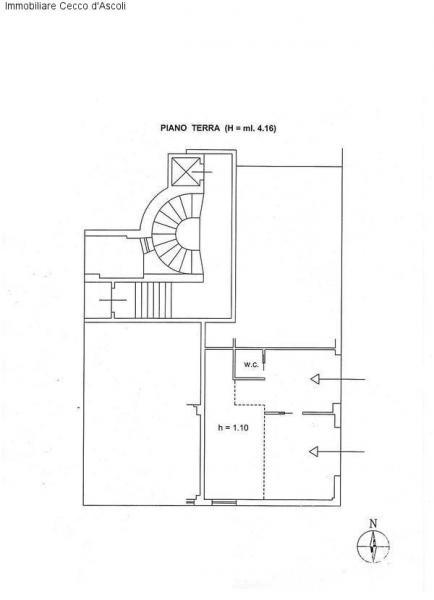 Ufficio / Studio in affitto a Ascoli Piceno, 9999 locali, prezzo € 350 | Cambio Casa.it
