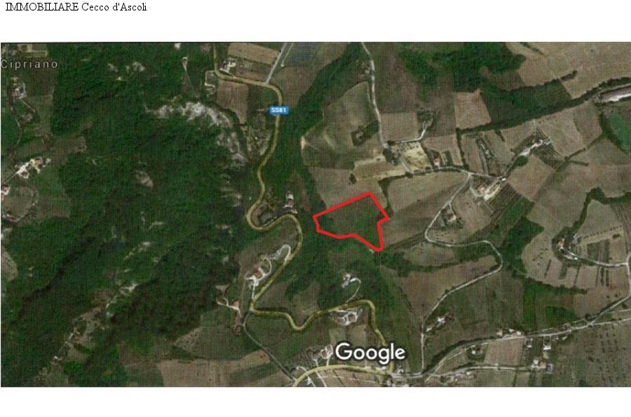 Terreno Agricolo in vendita a Folignano, 9999 locali, zona Località: PianediMorro, prezzo € 35.000 | Cambio Casa.it