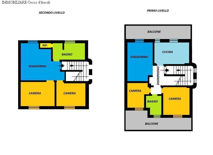 Appartamento in vendita a Ascoli Piceno, 9 locali, zona Località: PortaMaggiore, prezzo € 280.000 | Cambio Casa.it