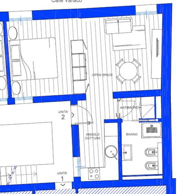 Appartamento in vendita a Venezia, 2 locali, zona Zona: 3 . Cannaregio, prezzo € 230.000 | CambioCasa.it