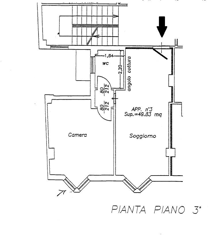 Bilocale San Benedetto del Tronto Via M. Curzi 10