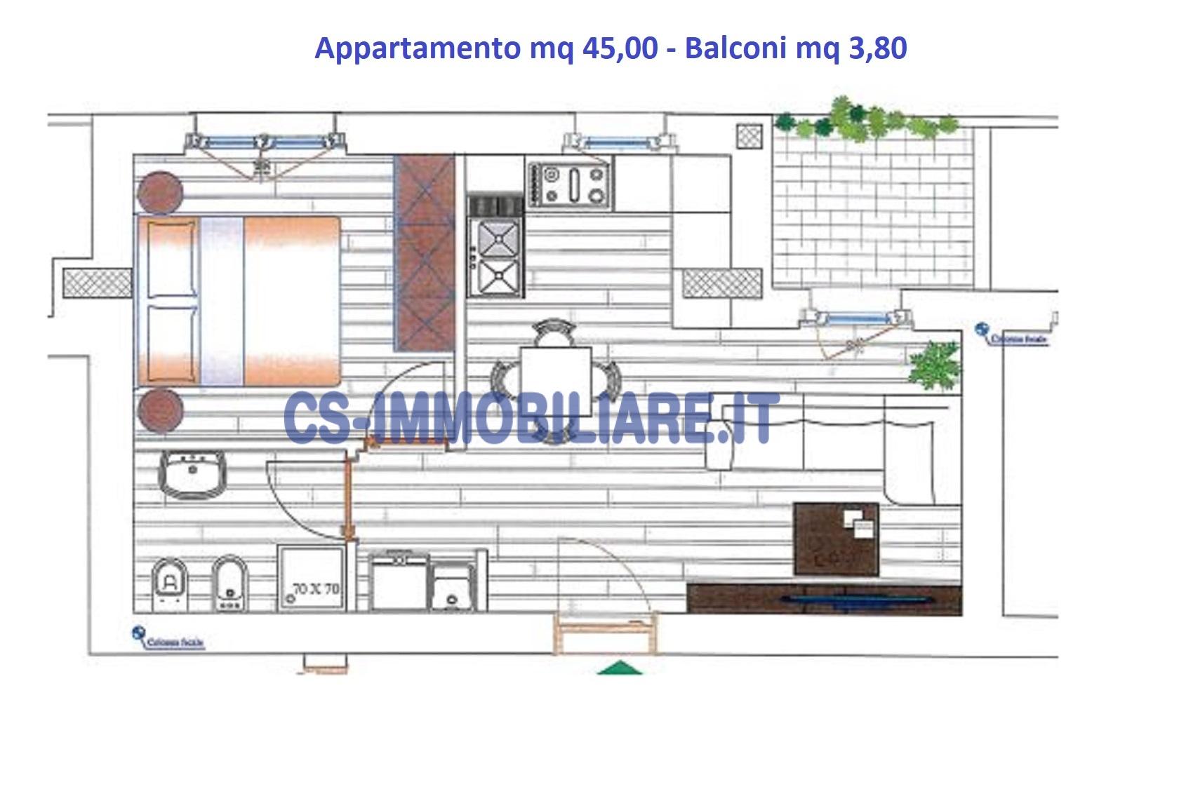 Appartamento in vendita a Potenza, 2 locali, prezzo € 111.600 | CambioCasa.it
