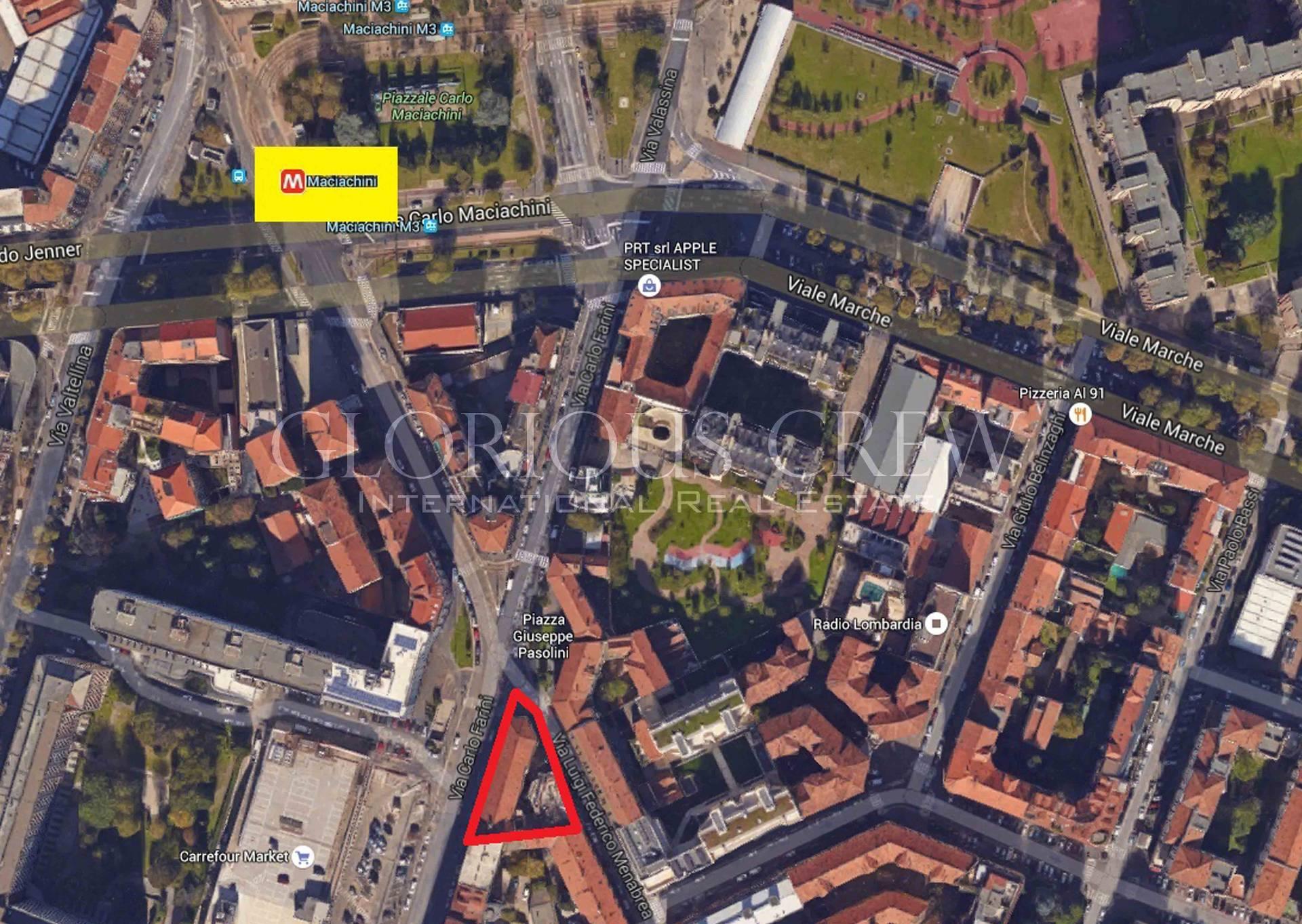 Bilocale Milano Via Luigi Federico Menabrea 6