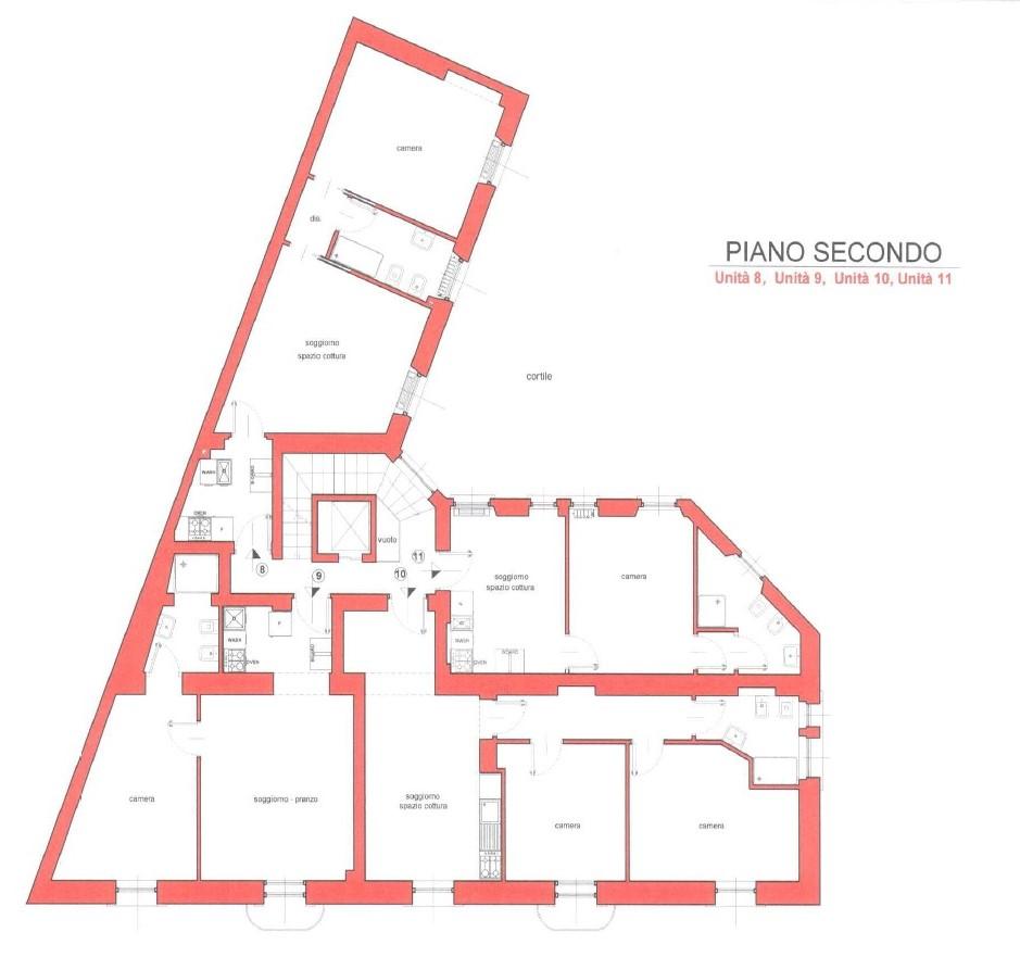 Bilocale Milano Via Luigi Federico Menabrea 9