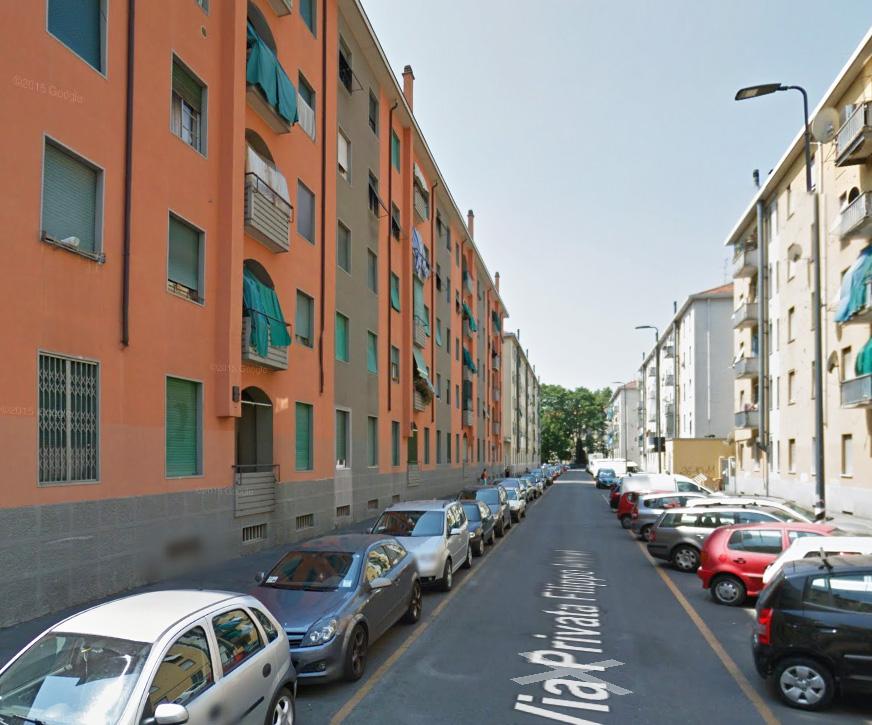 Bilocale Milano Via Filippo Abbiati 1