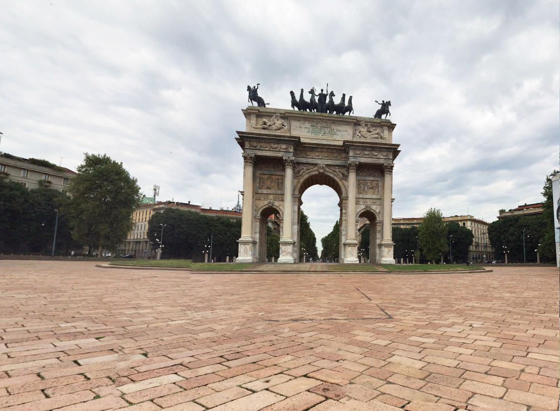 Bilocale Milano Via Luigi Canonica 4